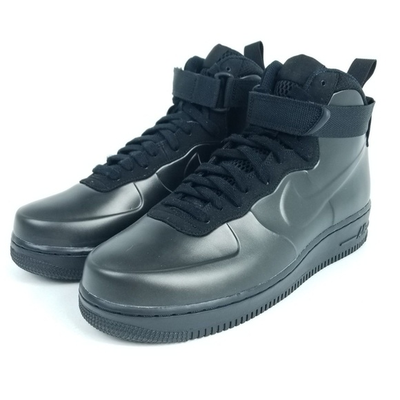 05f81b817e2 NIKE Air Force 1 Foamposite Cup Mens Shoes Black